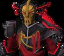 Black Knight captain's armour