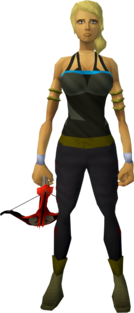 Dragon crossbow equipped