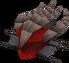Royal dragonhide coif detail