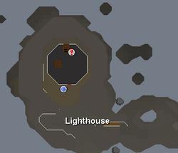 Lighthouse (music track) location