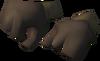 Diving suit gloves detail