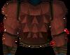 Werewolf torso (red, female) detail