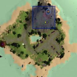 Anniversary tree (Anniversary Island) location