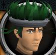 Tropical headdress chathead