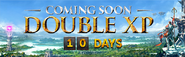 Double XP countdown lobby banner