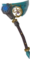 Augmented crystal hatchet detail