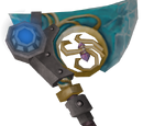Augmented crystal hatchet
