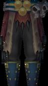 Hunter's legwear detail