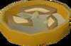 Sliced mushrooms detail