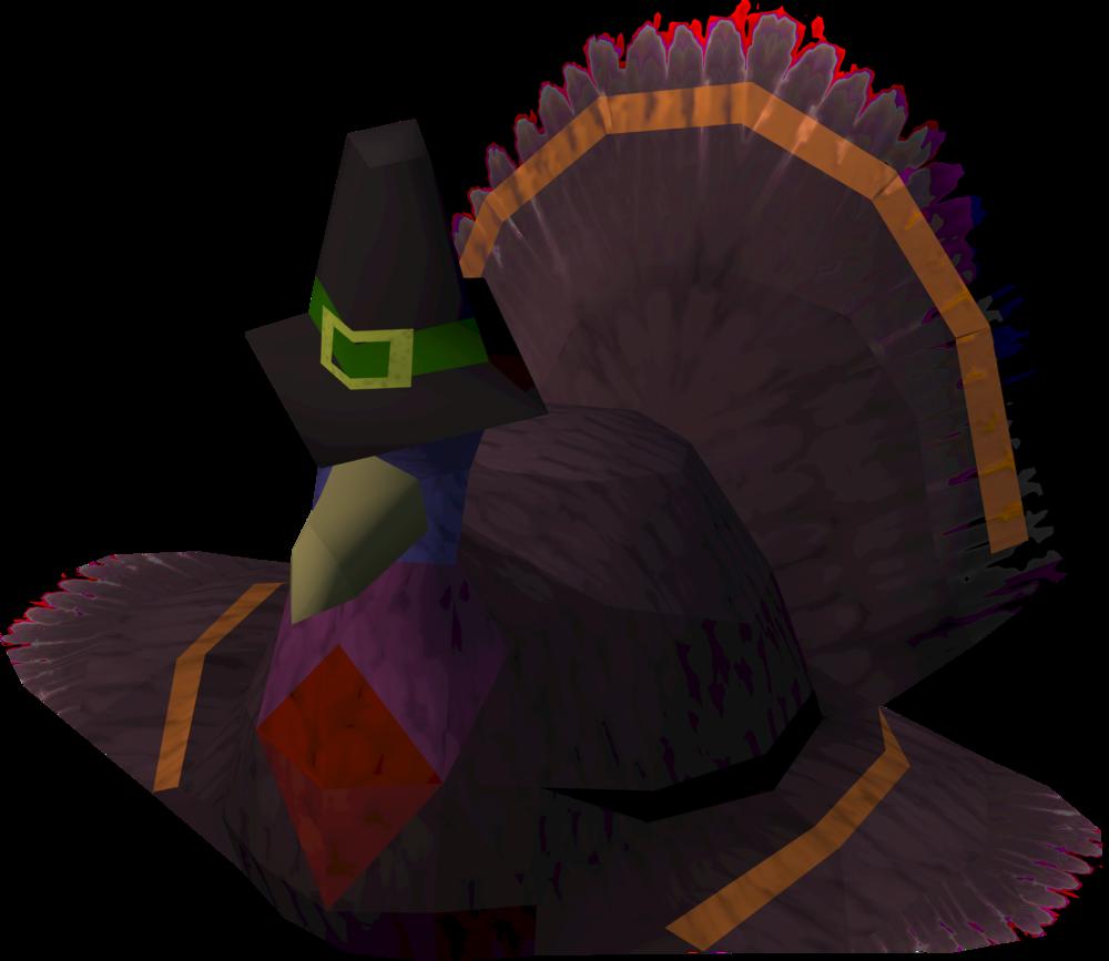 Turkey hat detail