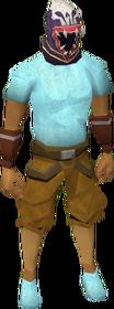 Wildstalker helmet (tier 3) equipped