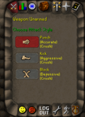Combat styles interface old2