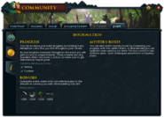 Community (Aiding the Exile) interface 3