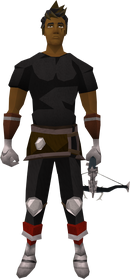 Off-hand Ascension crossbow (Third Age) equipped