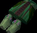 Pharaoh's shendyt (green, male)