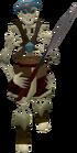 Skeleton hero old
