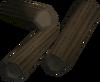 Strong sticks detail