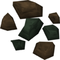 Adamantite ore detail