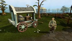 Beefy Bill's wagon