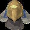 Black ibis mask detail
