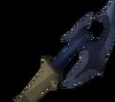 Off-hand katagon battleaxe