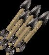 Dark arrow detail