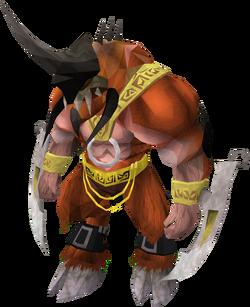 Demon brawler