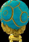 Azure globe detail