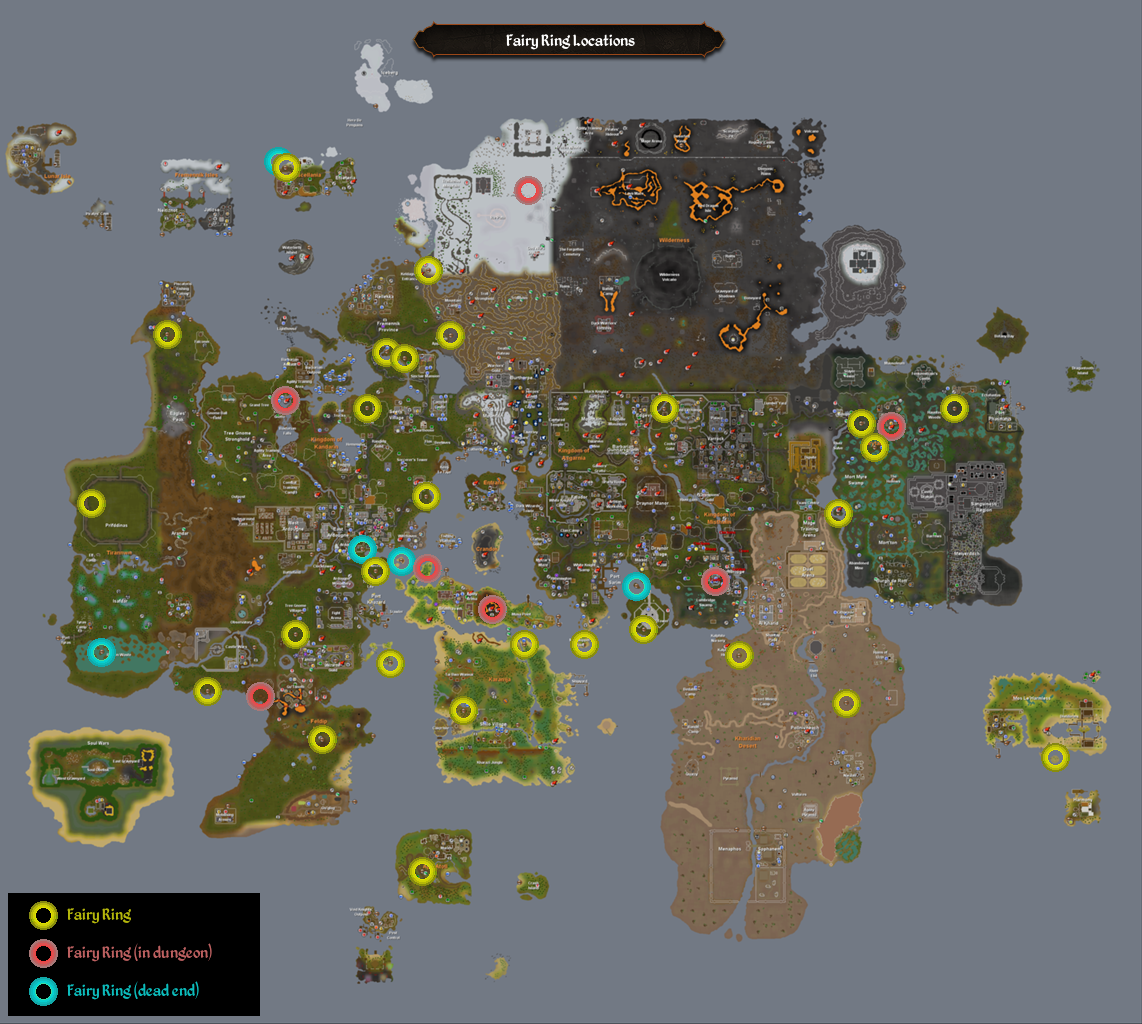 All Fairy Ring Codes Osrs