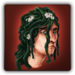 Seaweed hair icon