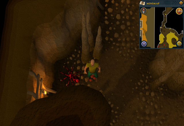 File:Cryptic clue Karamja Volcano Red Spider Red spider's eggs.png