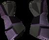 Warrior gauntlets (mithril) detail
