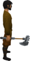 Steel battleaxe equipped.png