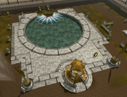 Dilapidated avatar habitat