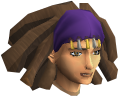 Diviner's headwear chathead (female)