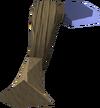 Argonite hatchet detail