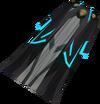 First tower robe bottom (blue) detail