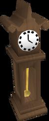 Teak Clock POH