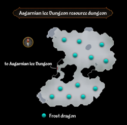 Asgarnian Ice Dungeon resource dungeon map