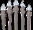 Pearl bolts (e)