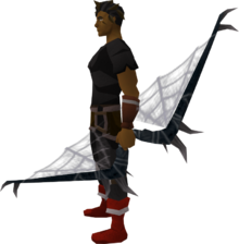 Noxious longbow (Third Age) equipped