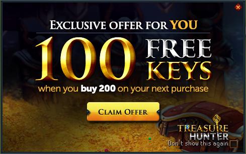 File:Treasure Hunter buy 200 get 100 promo.png
