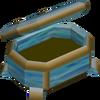 Crystal tinderbox detail