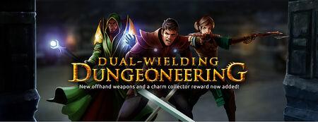 Dual-wielding Dungeoneering banner