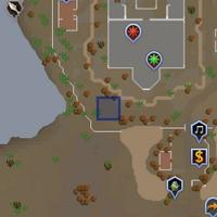 A strange portal (2001) location