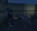 Dov zombies destroying the castle.png