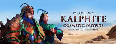 Kalphite cosmetic outfits head banner