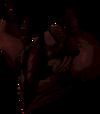 Malevolent helm (blood) detail
