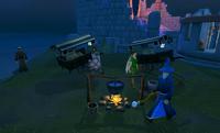 Adventurer's camp