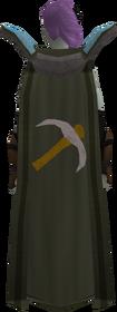 Retro mining cape equipped